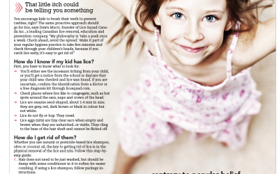 How to detect and get rid of lice by Parents Canada Momsense