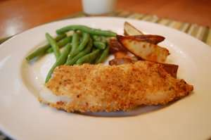 Oven Crunch Fish n' Chips