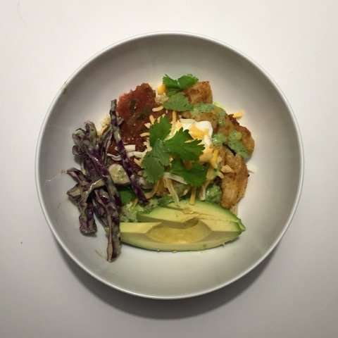 Nutrition Month Featured Recipe: Fish Taco Bowl