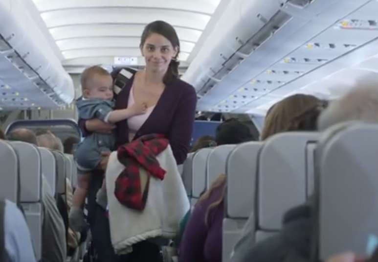 Three Cheers for Crying Babies in New Airline Ad