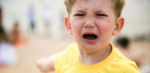 Entitled Kids - Enabling Parents - Boy Crying