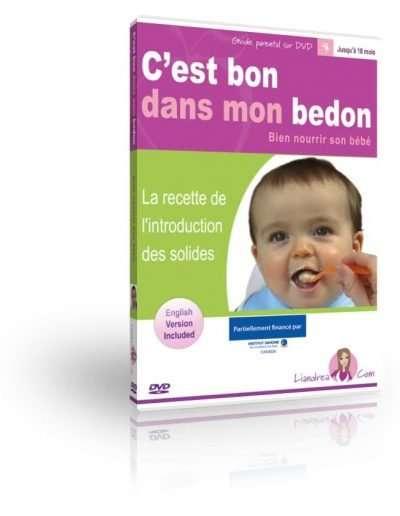 Yummy In My Tummy DVD - French version