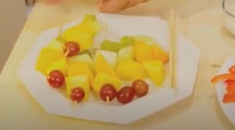 Fruit Kebobs Recipe