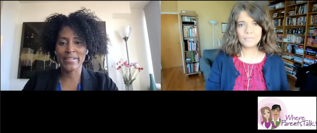 Dr. Khadija Booth Watkins and Lianne Castelino