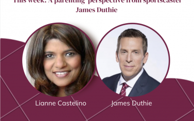 Show 14: October 16, 2021 | Reflections on Parenting with Sportscaster James Duthie